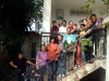 Ospiti del Centro per disabili