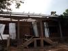 La scuola e la casa di Soukpen in costruzione