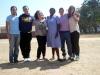 I ragazzi che hanno raggiunto la missione nell\'agosto del 2012