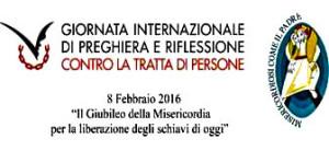 Giornata internazionale di preghiera contro la tratta di persone