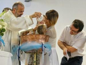 Saranda:il Battesimo di Aris