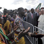 L'accoglienza riservata a Papa Francesco