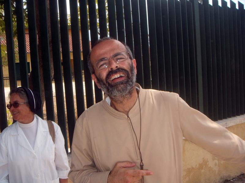 Don Giuseppe Tosi, responsabile della missione in Albania