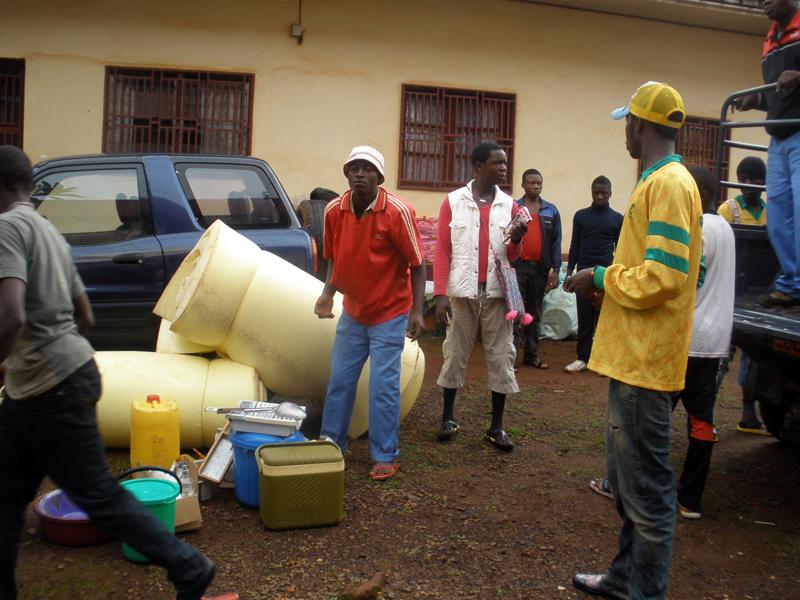 I giovani camerunensi