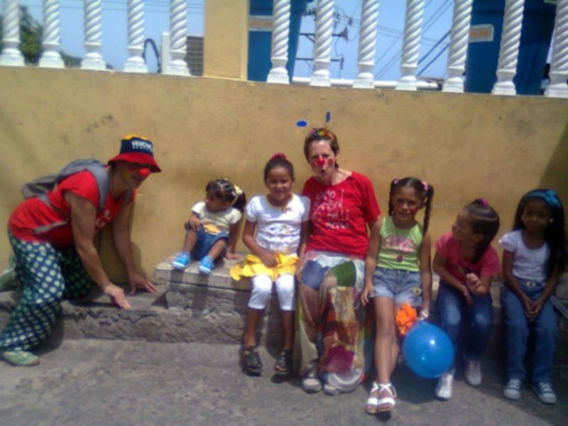 I dottor clown con i bambini