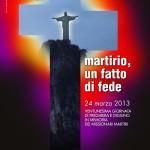 Manifesto Giornata in memoria dei Missionari Martiri 2013
